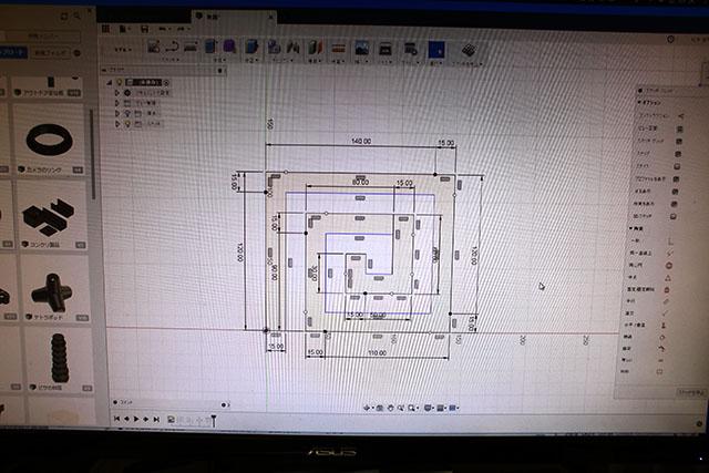 とりあえずCADで図面を作った。