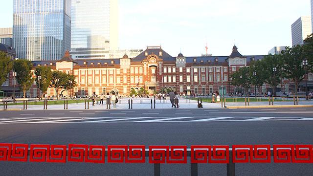 東京駅もラーメン屋さんみたいに見えてくる。