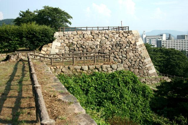特に理由はなく、旅行先にあった城ということで「鳥取城」が1番目となった