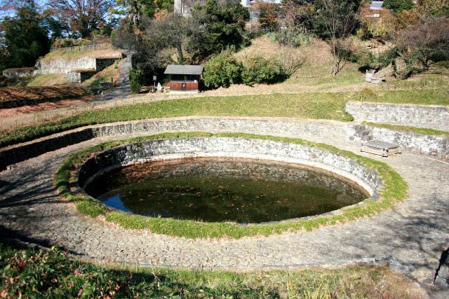 それらの中で印象的だったのは、丸い池が可愛い群馬県太田市の「金山城」や――