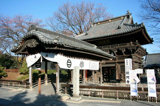 足利尊氏が住んでいた「足利氏館」は、鑁阿寺(ばんなじ)という寺院になっている