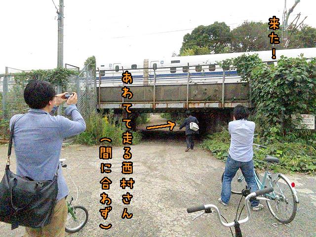 ここの近くだ。横須賀水道道を自転車で走ったレポート記事「20kmひたすらまっすぐな道を走ってみた</a>」より。