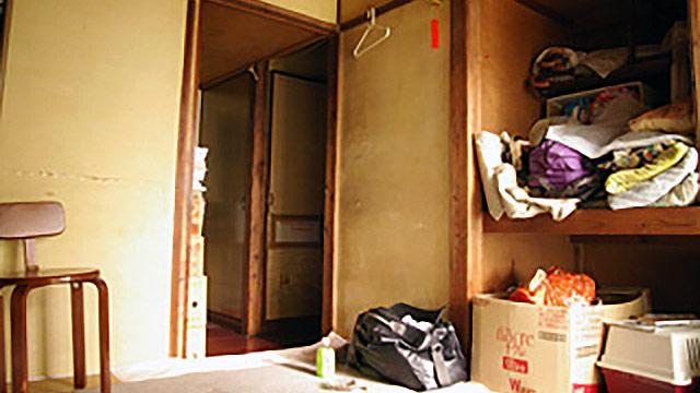 遺品整理後の叔父の部屋。ここには何があったのか。