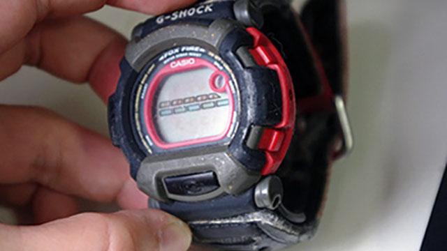 形見と言うほどありがたいわけでもない、昔もらった時計