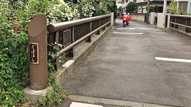 独歩の名が付いた橋もあった