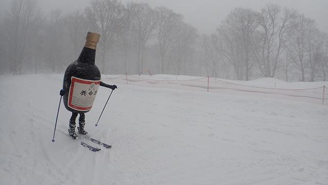 スキー初体験(こちらの記事 から)