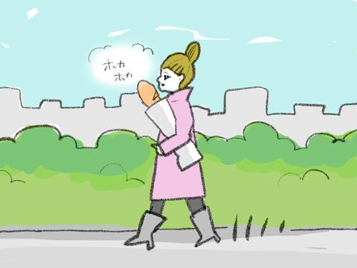 しかも、行ったことがないはずなのに「バゲットを小脇に抱えながら通りを歩いている人」の姿まで、想像したりしてしまう