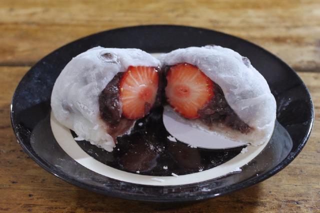 和菓子界の革命はいちご大福だとみんなが言う