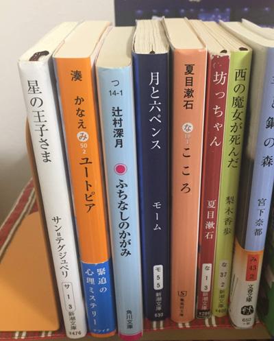 これらの本の存在に気が付けば、答えが「ペンス」だと分かる仕掛けだ。