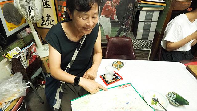 盛岡市に流れる「川」が大好きで北海道から引っ越してきたという女性。