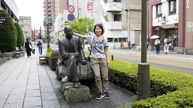 よく見たら宮沢賢治の作品のモチーフや詩碑などもあった。