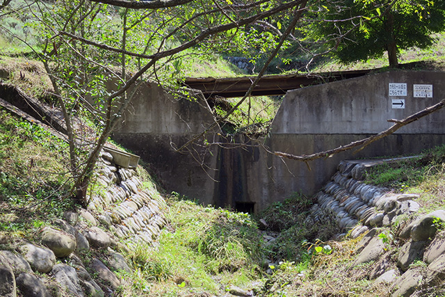 ふつうの砂防ダムもあった
