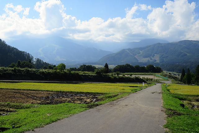 この集落からの景色もかなりの絶景だった