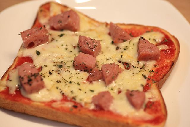 簡単豪華なピザトースト!