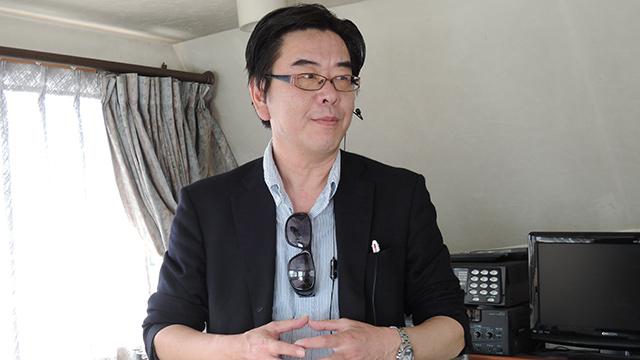 海洋散骨プロデュース珊瑚礁(株式会社シー・ドリーム)の代表、今井健夫さん