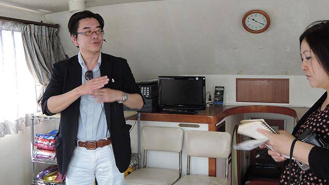 海洋業界と葬儀業界、両方の知識・経験をお持ちの今井さん