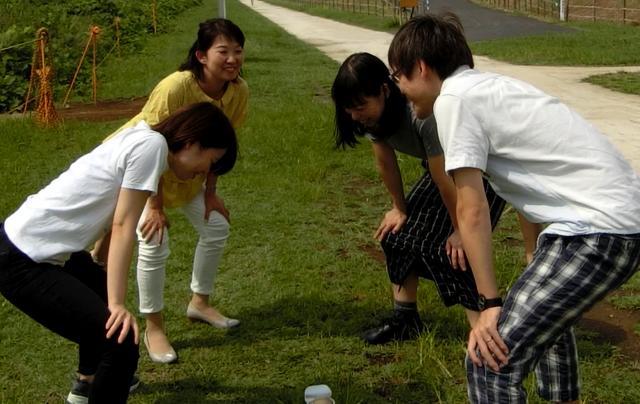 石川「集中!忍耐!諦めない気持ち!」 全員「はい!」 古賀「仲間を信じて、心を一つに!」 全員「はい!」