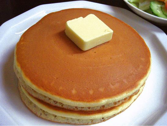 これぞホットケーキ(写真はこちらの記事</a>より)