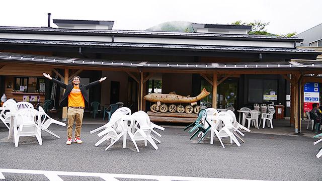 小菅村にはみんな大好き道の駅があります!