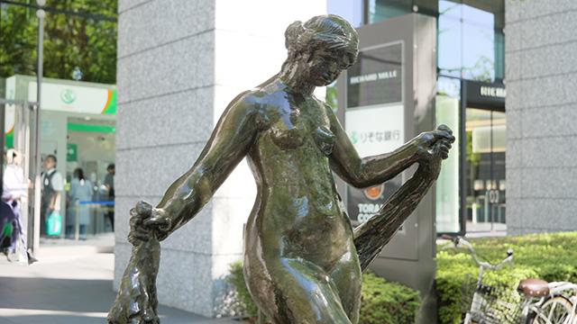 印象派の巨匠オーギュスト・ルノワール作だそうだ。彫刻もやってるんですか?