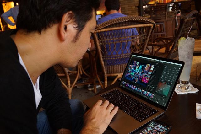 明石さんのパソコンには、