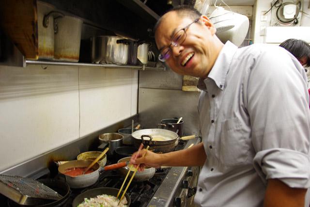 お店の味ではなく、家庭の味でエントリーした山田さん。