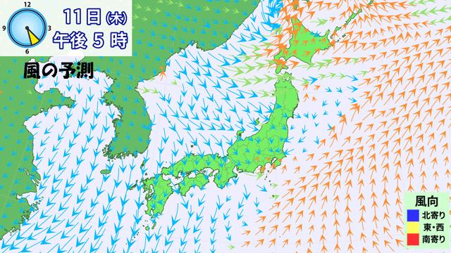本州は梅雨前線の雲の中に。そんななか、沖縄はまさかの梅雨明け?