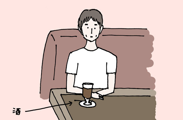 見渡すが、お酒を飲んでそうな人はいない。