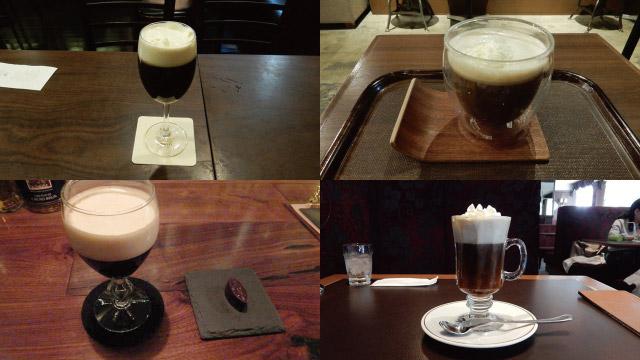喫茶店にある、ウイスキーとコーヒーのあれです。