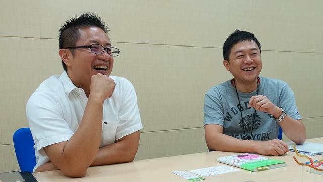 大塚さん(左)と松原さん(右)