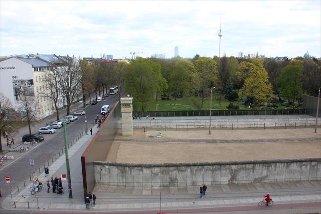 今も保存されて残る、ベルリンの壁