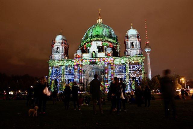 ポップな姿のベルリン大聖堂