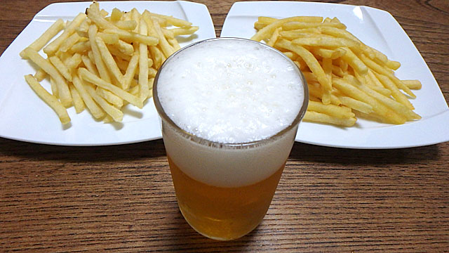 どちらもビールに合う事は間違いない。