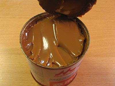 コンデンスミルクでキャラメルを作る方法
