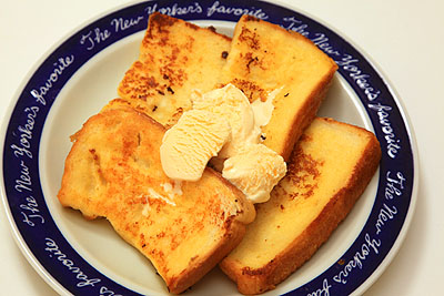 溶かした アイス フレンチトースト