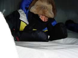 しばれフェスティバル人間耐寒コンテスト